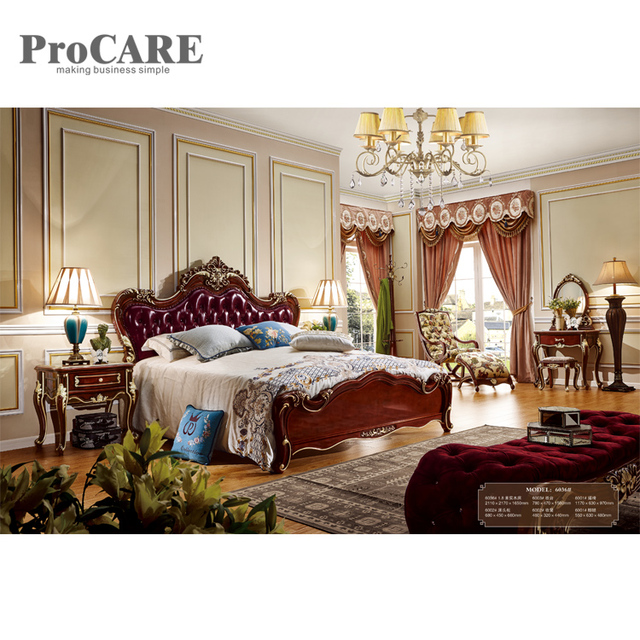 Procare 5 star luxury hotel room alibaba china natural wood bedroom ...