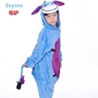Animal Jumpsuit Kid Pajamas Unicorn Lion Bear Bat Panda Monkey Dog Pig Goat Eagle Cosplay Costumes