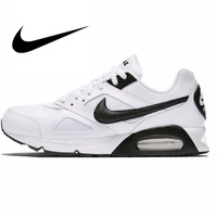 Оригинальный классический NIKE бренд AIR MAX IVO мужские кроссовки для бега кроссовки для прогулок бег спортивные на шнуровке массажные дышащие