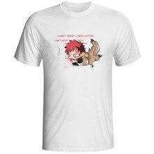 Naruto Sabaku no Gaara I Can Not Sleep T-shirt Anime Cartoon Fashion Pop Style T Shirt Casual Rock Print Women Men Top Tee