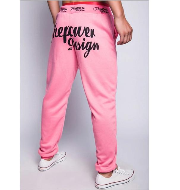 2016 новое прибытие ВЫСОКОГО КАЧЕСТВА хлопок sportwear шаровары мужчины pantalons homme штаны pantacourt бегунов тренировочные брюки