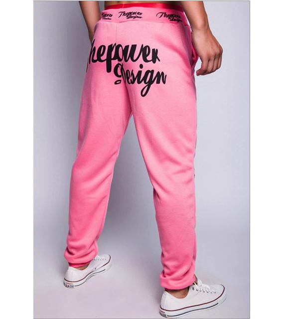 2016 novos chegada da ALTA QUALIDADE de algodão sportwear corredores harem pants homens pantalons homme sweatpants homens calças pantacourt