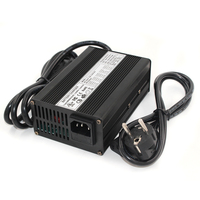 58.8V 3A Charger 14S 48V Li ion Battery Charger Lipo/LiMn2O4/LiCoO2 Charger Output DC 58.8V With cooling fan Free Shipping