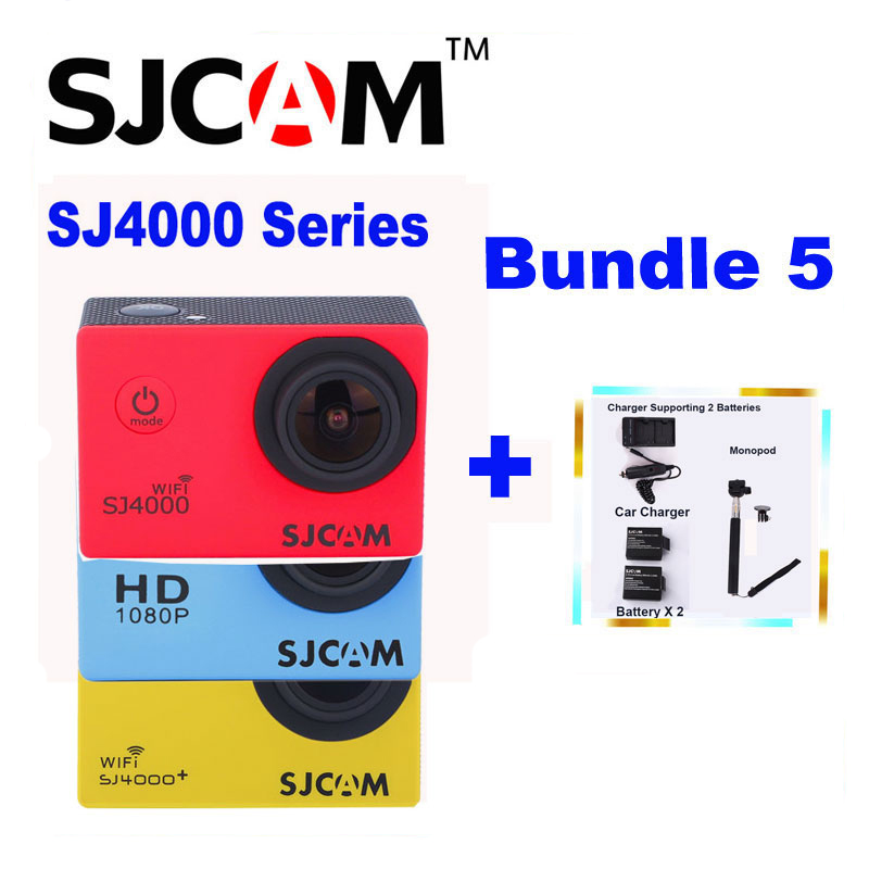 SJ 4000 y SJ4000 SJCAM WIFI SJ4000 Original Además de Cámara de Deportes de Acci