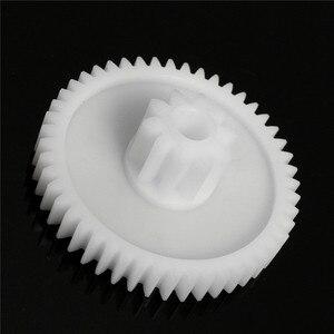 1Pc Plastic White Gear Hole 8m