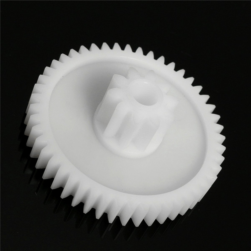 1Pc Plastic White Gear Hole 8mm For 550 Motor Children Car Electric Vehicle Electrical Equipment Supplies Motor Gear Accessorie image