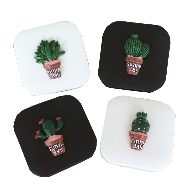 HNXZXB New Women Contact Lenses Storage Box Cactus Contact lens Case Box Eyes Care Kit Holder Travel Washer Cleaner Container