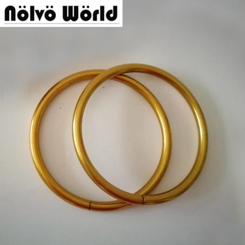 20pcs 3 Size 3 5 4 4 5 Inch Big Round Ring Antique Gold Old Gold