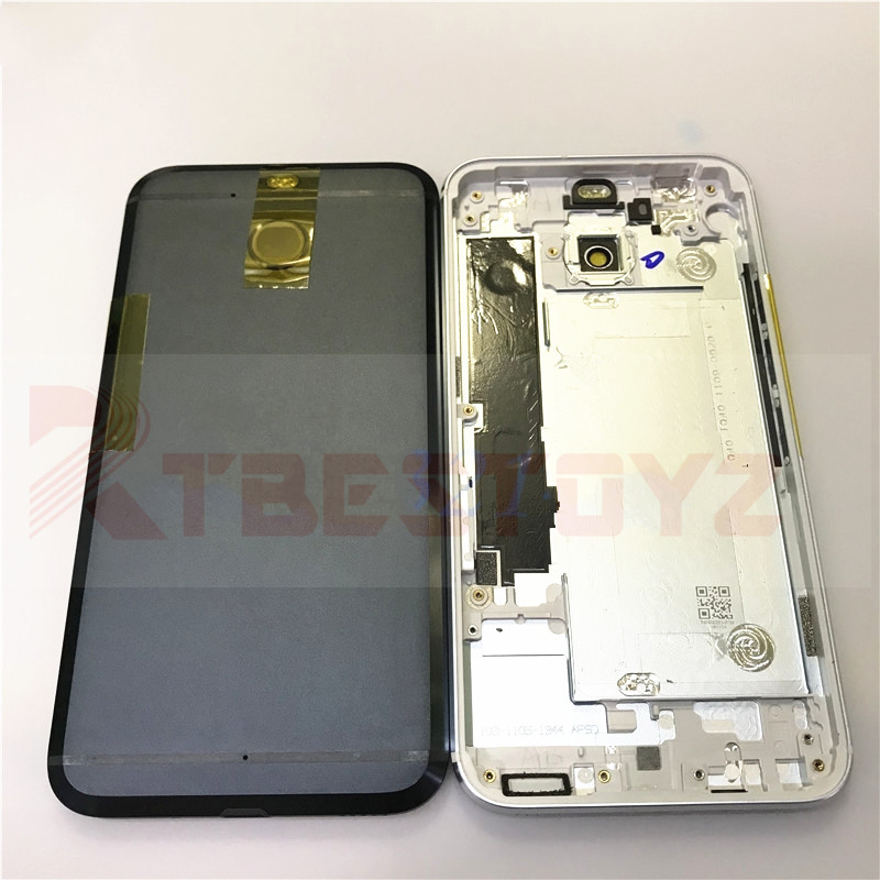 RTBESTOYZ Metal <font><b>Battery</b></font> Door Back Cover Housing For <font><b>HTC</b></font> <font><b>10</b></font> <font><b>evo</b></font> <font><b>Battery</b></font> Cover Back Rear Housing With Logo image