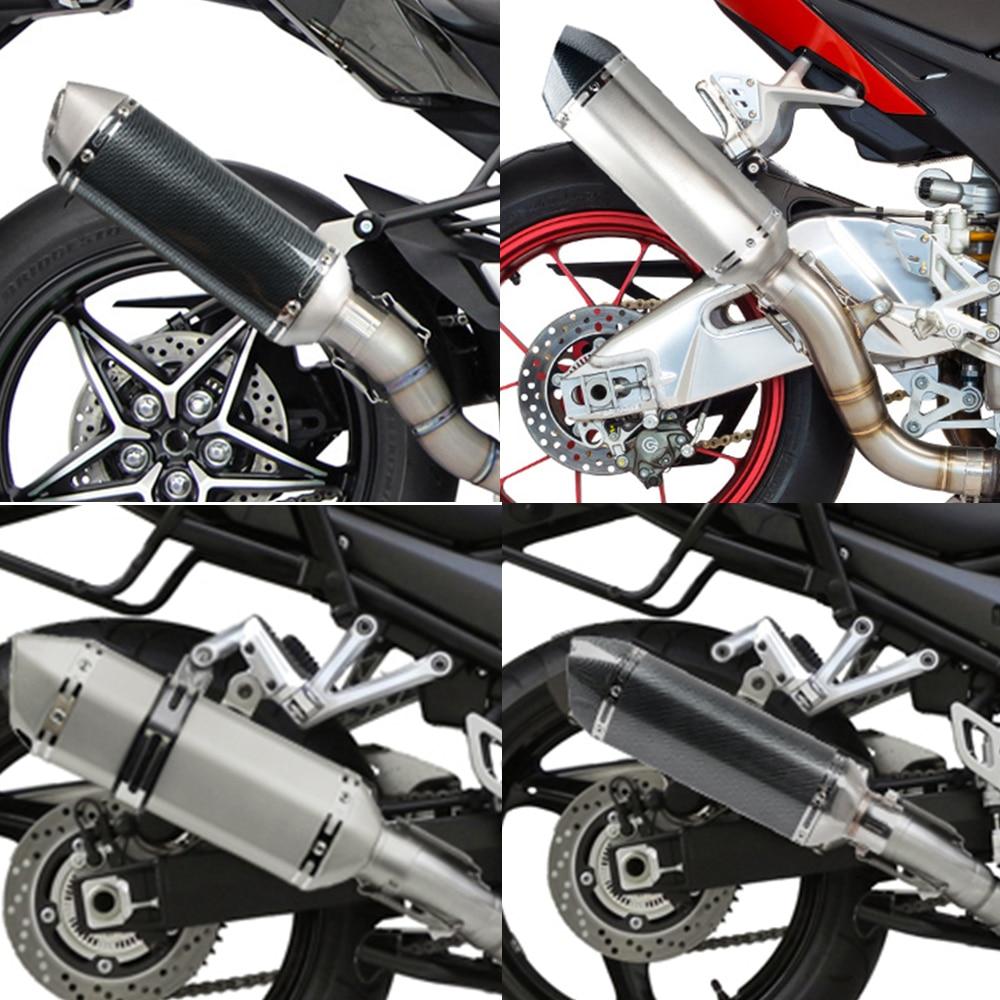 Tuyau d'échappement de moto universel de haute qualité 36-51 tuyau d'échappement modifié pour Honda cbr 650f cbr650f cbr 650 f/cb650f cb 650f - 6