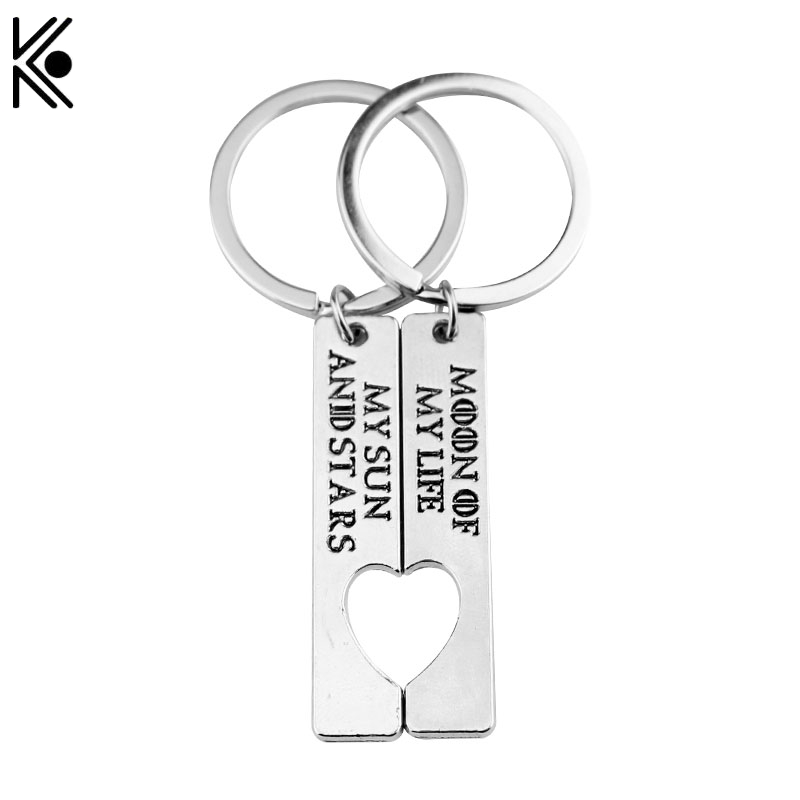 1 Set Game of Thrones Keychain Handmade letter Moon of My Life, My Sun and Stars Lovers best friend gift Game of Thrones key