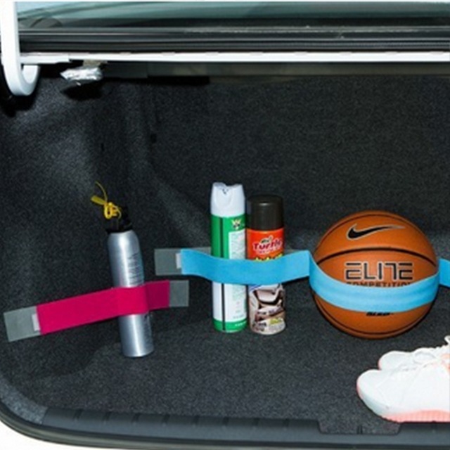 80cm Strap Car Trunk Organizer Stowing Tidying Car-styling Fixed Sundry Belt Automobiles Interior Accessories