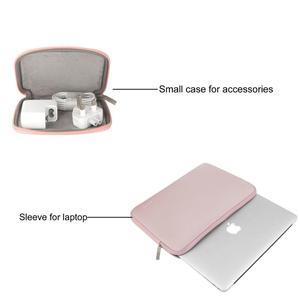 Image 4 - MOSISO bolsa impermeable para ordenador portátil, funda protectora de neopreno para Macbook Pro Air y Asus, 11,6, 12, 13, 13,3, 14, 15,6 pulgadas