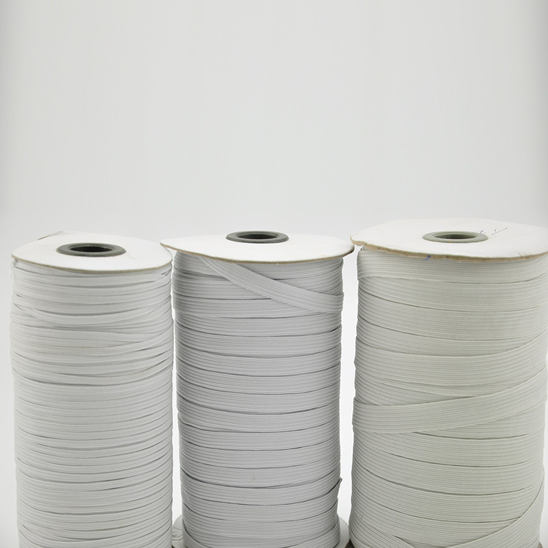 5m/lot 3 Sizes Elastic Band For DIY Highest Elastic Bands Garment Trousers Sewing Accessories