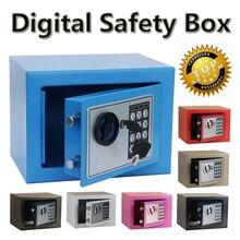Digitalen safe Feuer Beweis Ideal zu Schutz Wertsachen Geheimnis Zu Hause während Reise Lagerung Schmuck Gold caja fuerte coffre fort