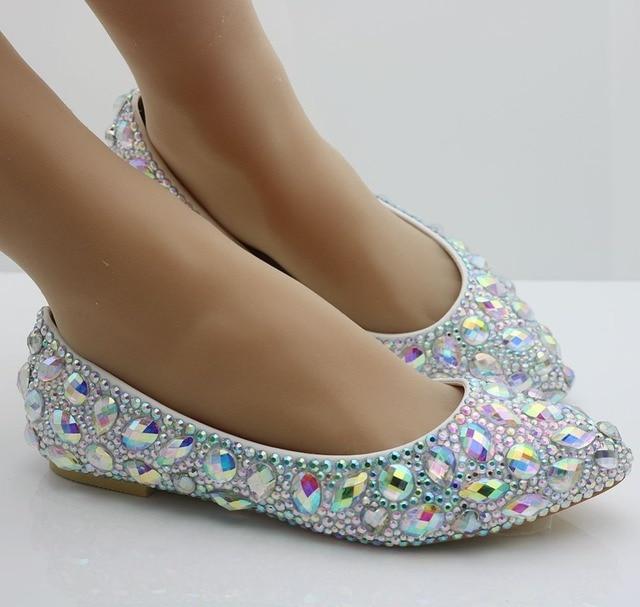 cd64e25b1b9d 2017 Newest fashion flats shoes colourful diamond flats woman shoes Ballet  flats casual shoes flat heel