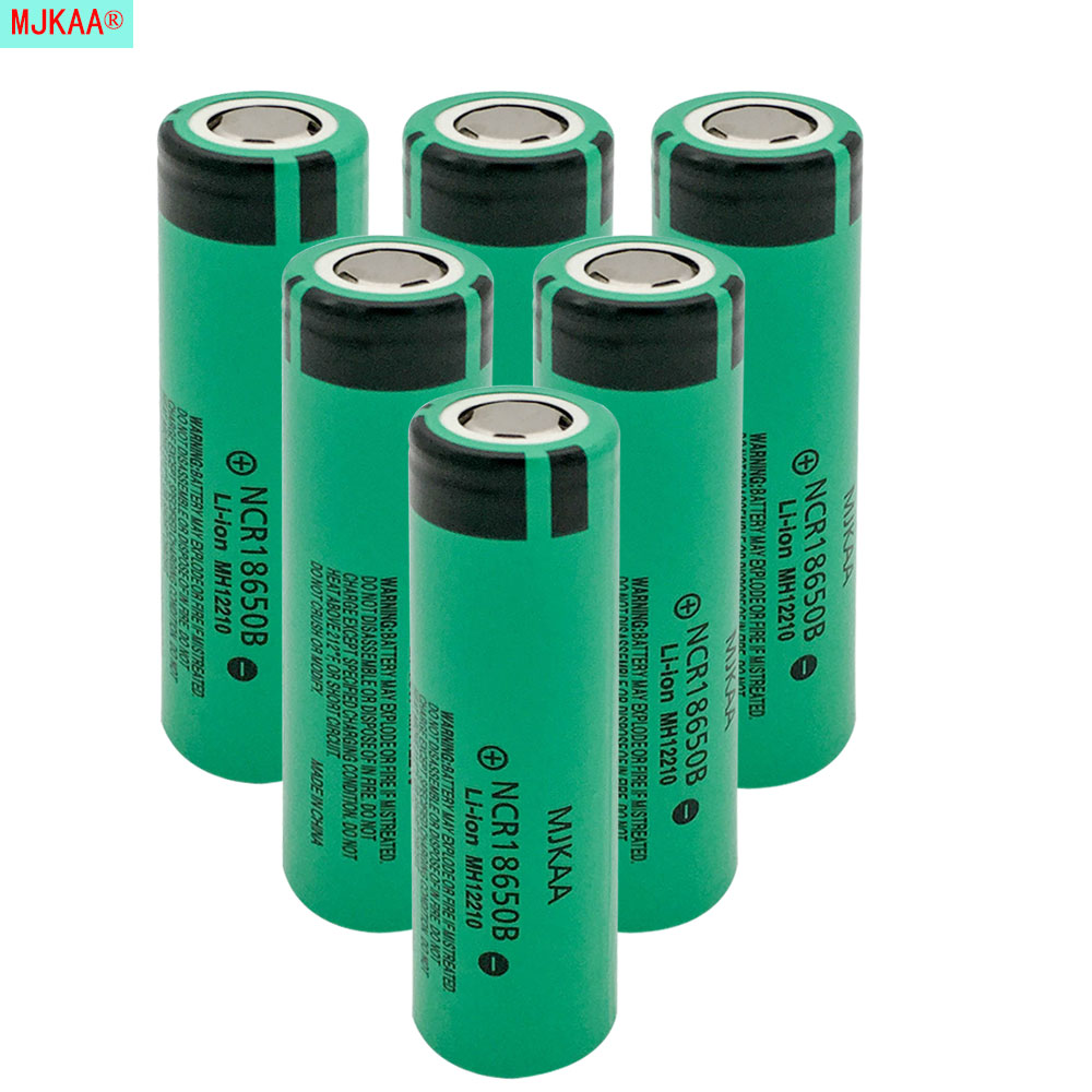 mjkaa 6pcs lot original ncr 18650 rechargeable battery 3. Black Bedroom Furniture Sets. Home Design Ideas