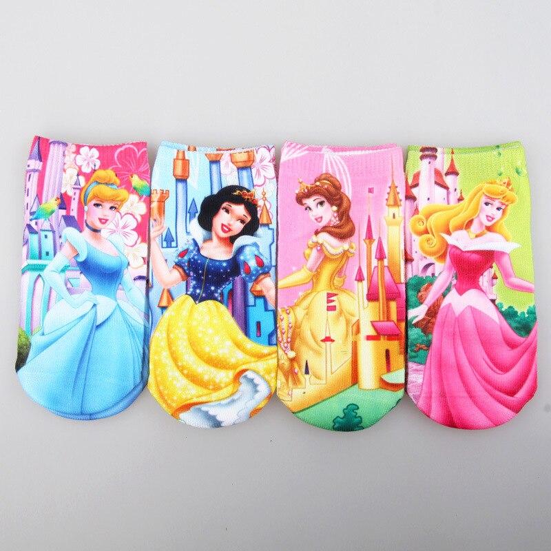 6pairs Children girls sock cotton children socks girl cartoon beautiful clastic new style princess socks 1-8T 043 TP01