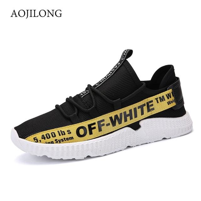 Jogging Men Outdoor Aojilong Breathable Air Sport Mesh Running Shoes rtsBdhQCx