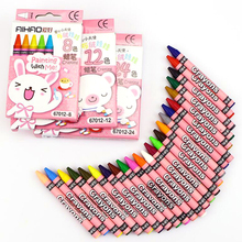 Crayons Creative Cartoon 8/12/24 Colors Drawing Non-Toxic Oil Pastels Kids Student Pastel Pencils Art Supplies