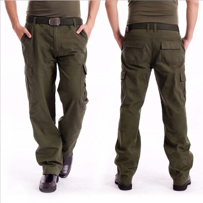 Online Get Cheap Black Cargo Work Pants for Men -Aliexpress.com ...