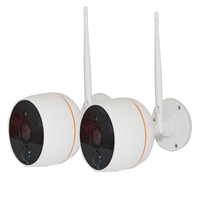 Yanivision 2pcs/Lot Wifi IP Camera 1080P for Wireless CCTV Camera Kit DJ K5102W 1080P to expand to 4CH, not sell separately