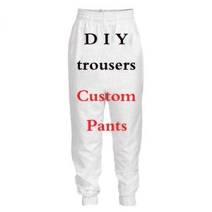 PLstar Cosmos impresión 3D DIY diseño personalizado hombres/mujeres Pantalones Casual joggers pantalones Drop Shipper mayoristas para Drop Shipper