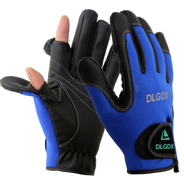Buy new professional men outdoor winter for Fly fishing gloves