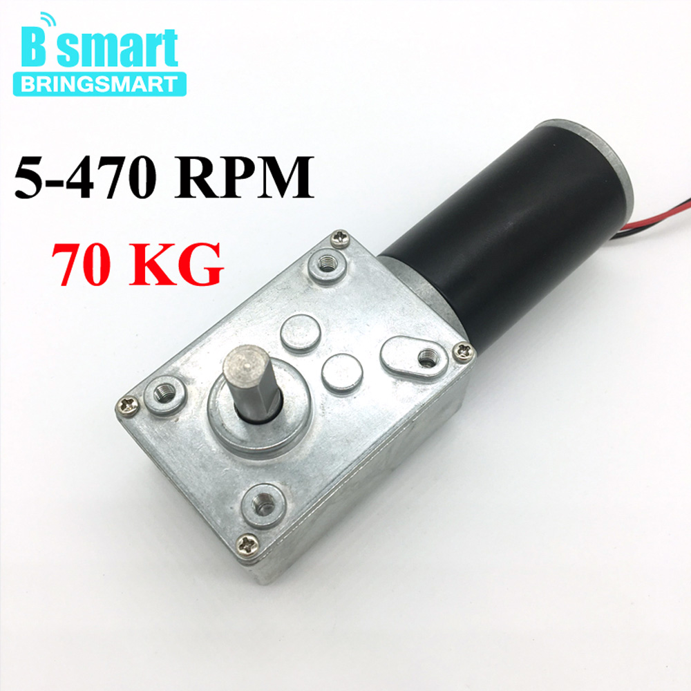 DC12V Right Angle Micro Speed Reduction Motor 11RPM Metal for Dumbwaiter