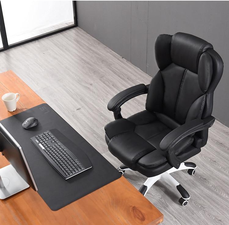 cadeira da casa pode deitar-se com apoio para os pés