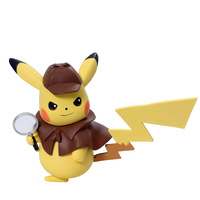 Pokemon Detective Pikachu Pet elf Cute Action Toy Figures Doll Collectible model Children's Gift Kids Cartoon Japan Anime Movie