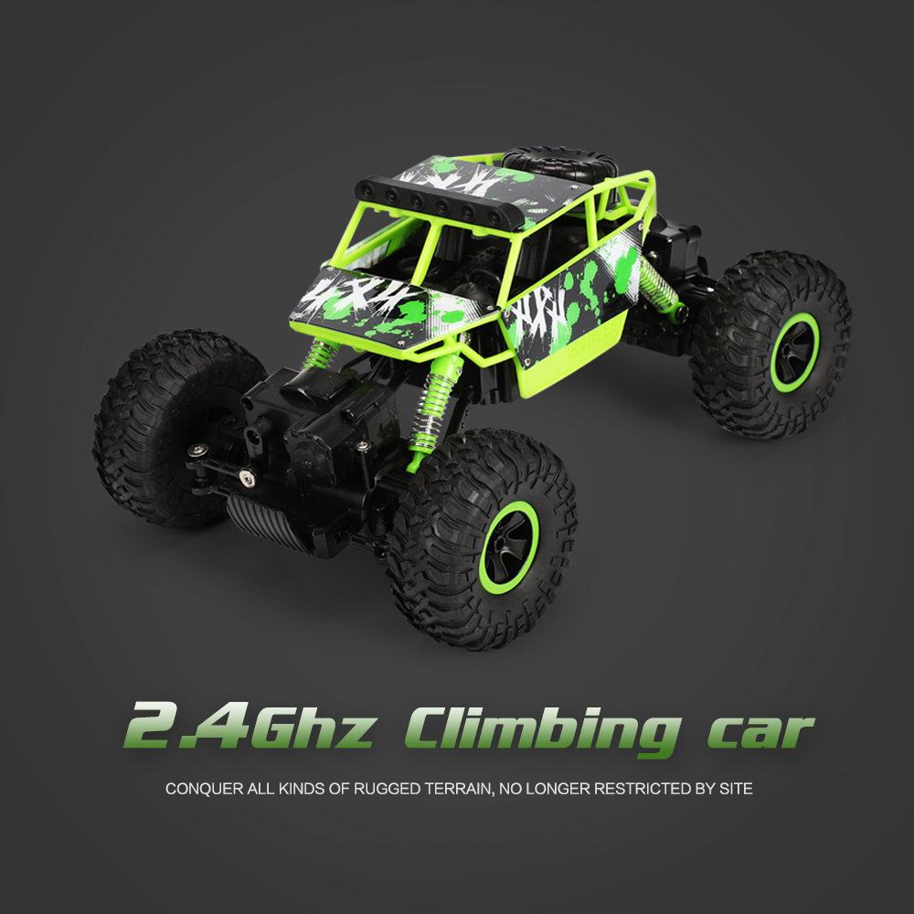 Four-Wheel Steering RC Off-Road Climbing Car High-Speed 2.4G Drift Double Motor Climbing Force powerful Adapt To Various TerrainFour-Wheel Steering RC Off-Road Climbing Car High-Speed 2.4G Drift Double Motor Climbing Force powerful Adapt To Various Terrain