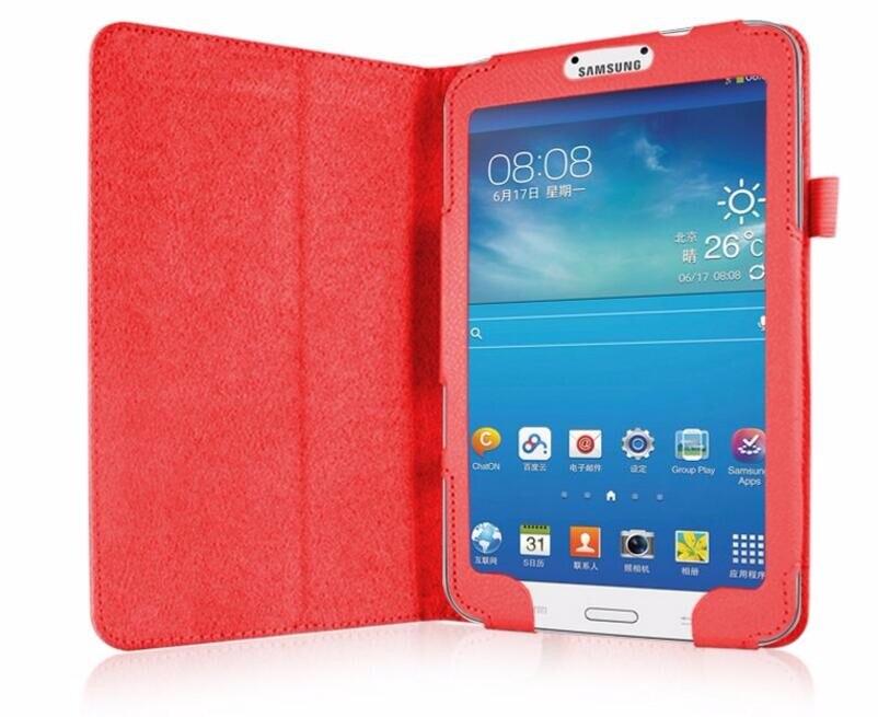 1 Pc/lot Case untuk Samsung Galaksi Tab 3 8.0 T310 T311 Kulit Case S untuk Samsung Galaksi Tab3 SM-T310 8 Sarung Penyangga Pelindung Cangkang Multi-warna