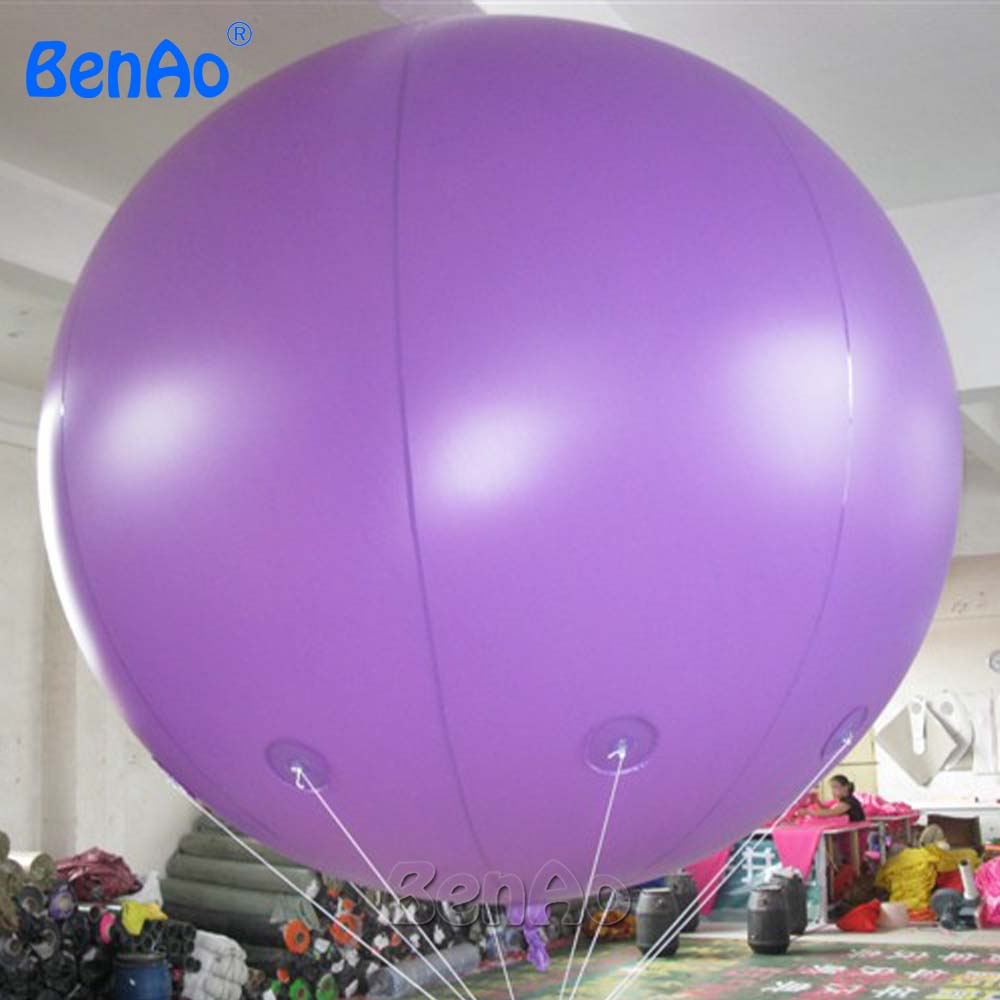 AO058P 2M hot sale custom design logo inflatable advertising ball inflatable Helium sky balloon