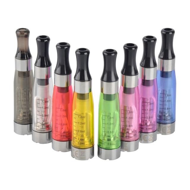 10 cái EGO CE4 Atomizer cho CÁI TÔI của T Pin EVOD E Thuốc Lá Clearomizer 1.6 ml Công Suất 8 Màu Sắc Thả Vận Chuyển