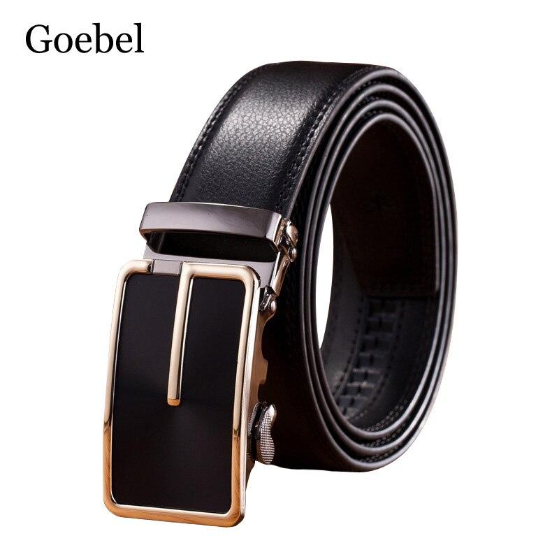 Здесь продается  Goebel Business Man Belt Split Leather Automatic Buckle Belts Men Designer Fashion Casual Belt Men