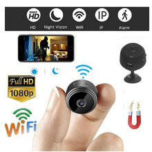 2018 HD 1080P Mini Camera Wireless Remote Wifi Security Cam Night Vision Motion Action Detects Invisible Night vision IP Hidden(China)