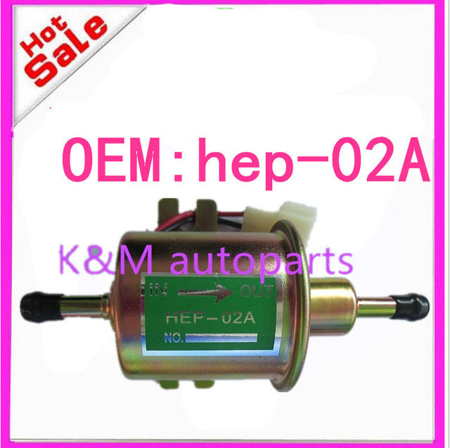 High quality free shipping Universal Diesel Petrol Gasoline Electric <font><b>Fuel</b></font> <font><b>Pump</b></font> HEP-02A <font><b>Low</b></font> Pressure 12V HEP02A K-M