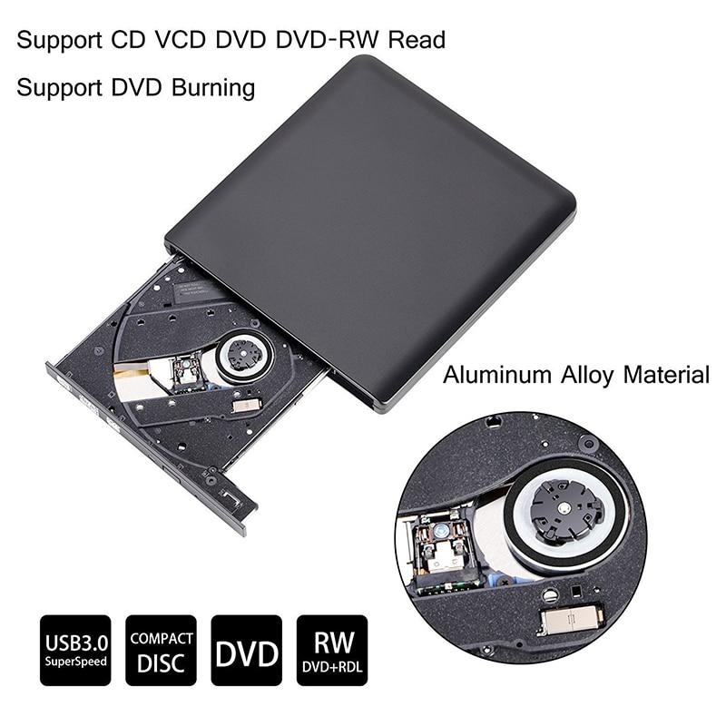 USB 3.0 DVD-kirjutaja DVD-ROM-i mängija Väline optiline draiv CD / - Arvuti komponendid - Foto 2