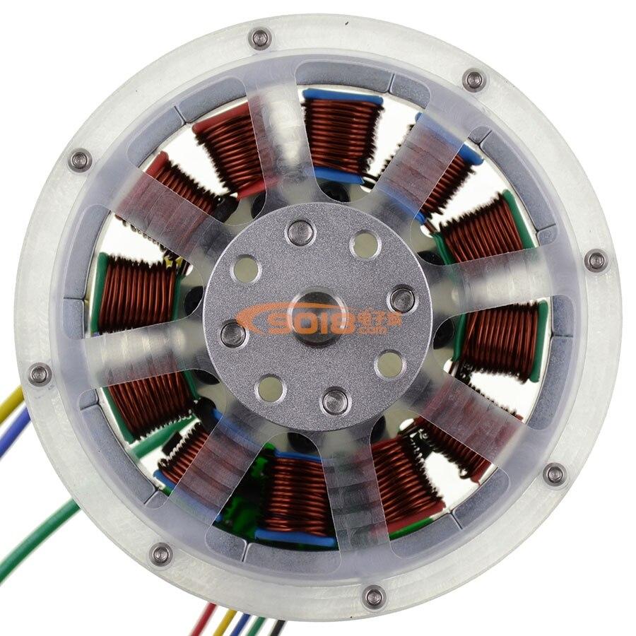 12N14P permanent magnet brushless DC motor 100W DC brushless motor model