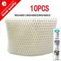 10 шт. сменные фильтры увлажнитель HU4102  фильтры бактерии и весы для Philips HU4801 HU4802 HU4803 части увлажнителя