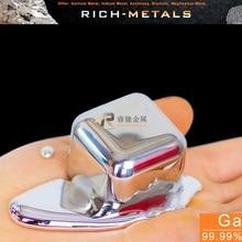 Métal Gallium 99.99% pur, 50 grammes