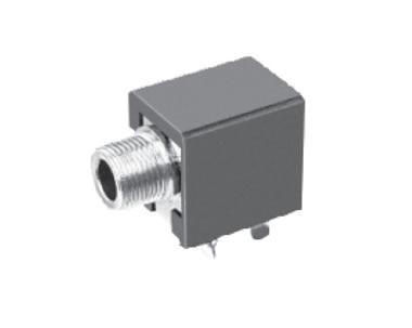 1000pcs Screw Phone Jack 3.5mm 3 pin mono channel socket for 2 poles earphone plug through hole  DC30V 0.5A