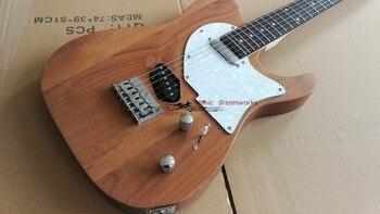 çin Firehawk Oem Mağazalar Elektro Gitar Tl Gitar Mat Renk Boya Kuru
