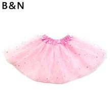 9bf82aa2bd7c6 Buenos Ninos fille Tutu jupe pettijupes paillettes étoiles Shinny danse  Ballet jupe noël Tulle jupon (