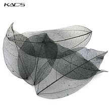 KADS 5pcs/bag Colorful Dried Leaves 6 Color Choice Light Pretty Decorations for Nail Art Manicure Tools nail accessories art [men] 2019 04 27t19 00