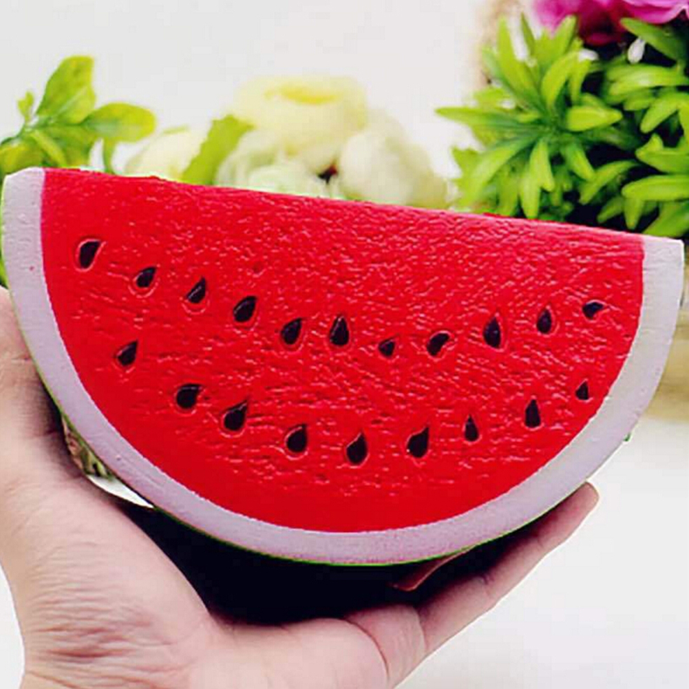 Cellphones & Telecommunications Able Kawaii Anti-stress Squishy Watermelon Mobile Phone Strapes Super Slow Rising Squeeze Stretch Bread Cake Kid Toy Gifts