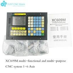 Frezowanie cnc System 1-6 osiowy kontroler offline XC609M tabliczka zaciskowa sterowanie grawerką w połączeniu z ekranem dotykowym hmi