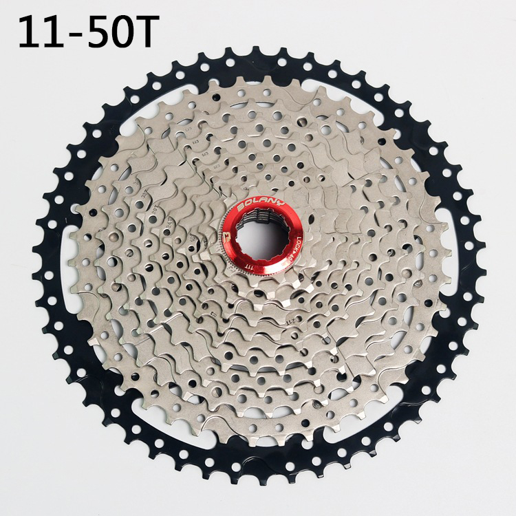 MTB Mountain Bike Bicycle Parts Cassette Free Wheel 11s 11 Speed 11-50 t Wide Relation for m7000 m8000 m9000 rockbros titanium ti pedal spindle axle quick release for brompton folding bike bicycle bike parts
