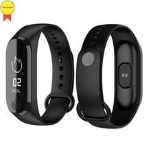 Smart Bracelet Fitness Tracker Heart Rate Monitor Blood Pressure Waterproof Sports men Wristband for IOS android Pk MI Band 3 2018 smart wristband blood oxygen heart rate monitor man woman sports bracelet bluetooth smart band blood pressure pk mi band 3